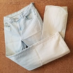 Levi's White Washed Jeans